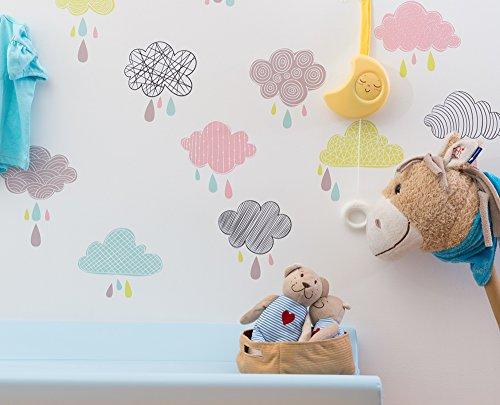 NUVOLE - Adesivi murali - wall stickers - Decorazioni per cameretta - Decoramo