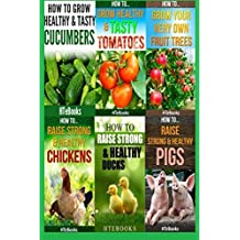 6 books in 1: Agriculture, Agronomy, Animal Husbandry, Sustainable Agriculture, Tropical Agriculture, Farm Animals, Vegetables, Fruit Trees, Chickens, ... Tomatoes, Cucumbers (How To Do Agriculture) by HTeBooks (2016-07-23)