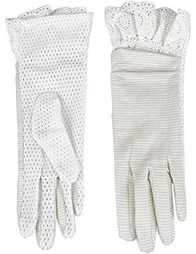 Kenmont mujeres del verano de la señora Uv protección de algodón guantes al aire libre