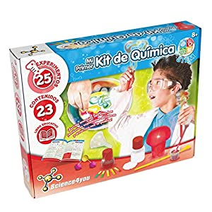 Science4you-Mi Primer Kit de Química para Niños +8Años, (80002201)