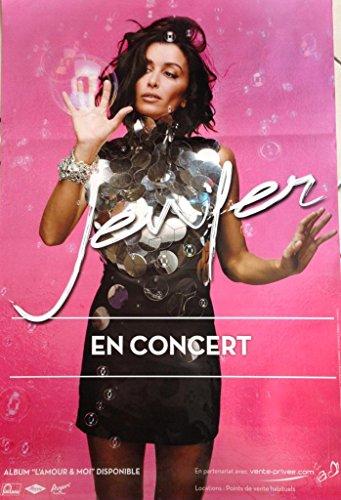 Jenifer - L'Amour Et Moi - 70X100 Cm Affiche / Poster