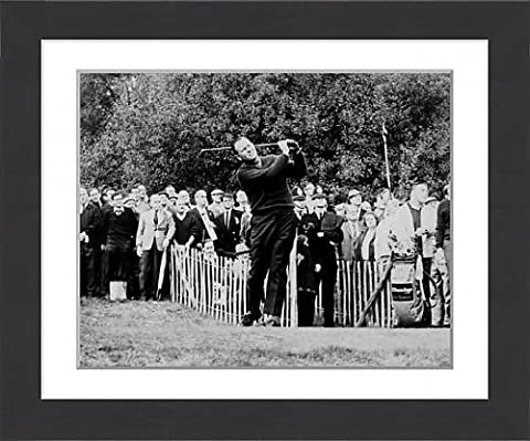 Framed Print of Golf - Piccadilly World Match Play Championship - Wentworth
