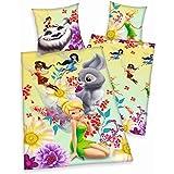 Herding 4419048027 Parure de Lit pour Enfants avec Imprimé Fairies Nimmerbiest en Coton Multicolore 140 x 200 cm (housse de couette 140x200 cm et taie d'oreiller 65x65 cm)