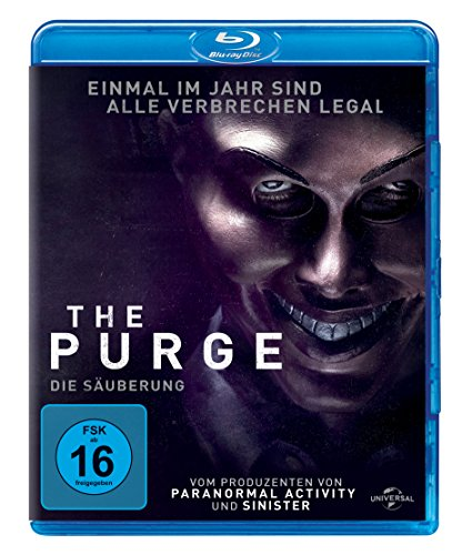 The Purge 1 - Die Säuberung [Blu-ray]