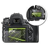 atFoliX Displayschutz für Nikon D750 Spiegelfolie - 1er Set FX-Mirror Folie mit Spiegeleffekt