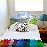 MYLOOO Home Decor Selbstklebende Kunst Kopfteil Wall Decal Aufkleber DIY Küche Badezimmer Dekor Wand Aufkleber Home Deco Spiegel 56X99Cm
