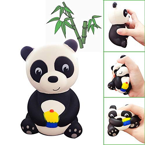 lich Panda parfümiert langsam steigend Kinder Spielzeug Puppe Geschenk Spaß Stress Erleichterung Spielzeug ()