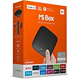 Mi Box Android 6 TV, 4K, HDR, 2Gb RAM, 2.0GHz, distant, 60fps (Version internationale)