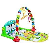 Huanger Piyanolu Bebek Oyun Halısı Eğitici Oyuncak MAVİ