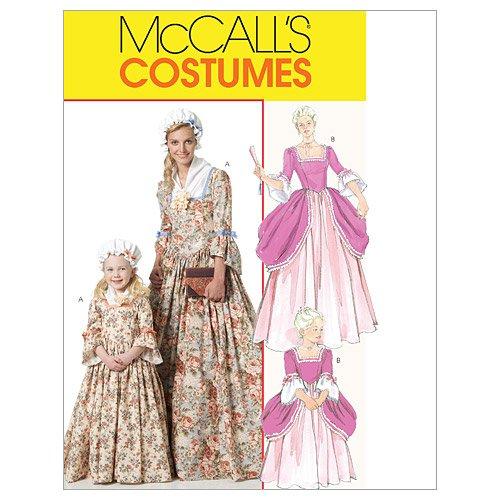 Kolonial Kostüm (Mc Call´s Schnittmuster 6139 Miss Damen Kolonial Kleid,Kostüm Gr.)