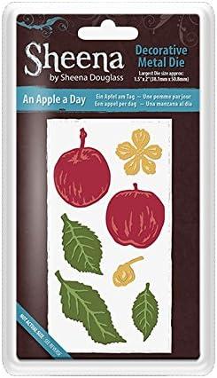 Sheena Douglass Decorative Thin Metal Die - - - An Apple A Day by Sheena Douglass B01L35QGC6 1bb616
