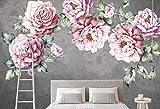 Personalizzato 3d murale carta da parati rosa fiore foto murale TV sfondo wallpaper per pareti 3 d soggiorno miglioramento casa, 400 * 280cm
