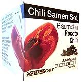 """Chili Samen Set """"Baumchili"""" Rocoto - fruchtig scharf und selten!"""
