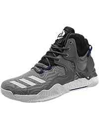 low priced 63c06 c466d Adidas D Rose 7, Scarpe da Basket Uomo, Grigio (GrpuchFtwbla