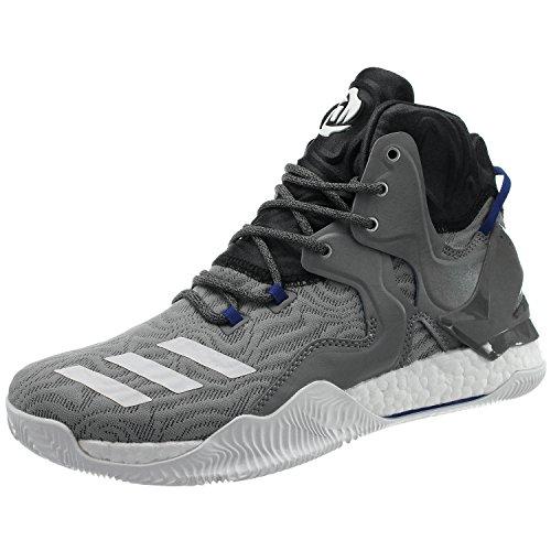 sports shoes 90161 b8b13 adidas D Rose 7 Herren Basketball Schuhe, Grau – (grpuch Ftwbla grpudg
