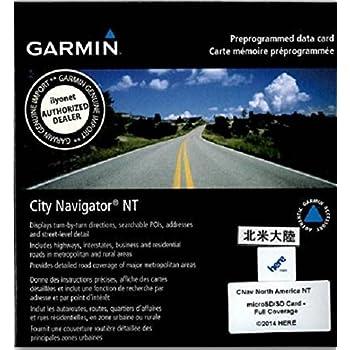 Carte Garmin Amerique Du Nord.Garmin City Navigator Amerique Du Nord Nt Micro Sd Sd