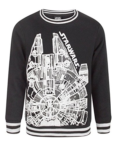 Falcon Boy's Sweatshirt (11-12 Years) (Han Und Leia Kinder)