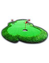 TT Alfombra de golf para interiores y exteriores Práctica de columpio Manta de simulación Turf Golf Practice Blanket Length 300cm