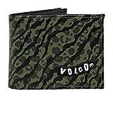 Volcom Empty PU Wallet One Size Camuflaje