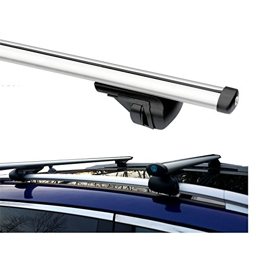 Image of Summit SUM-002 Roof Bar to Fit Cars with Running Rails, Aluminium 1.2m