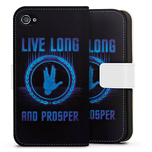 Apple iPhone X Silikon Hülle Case Schutzhülle Startreck Statement Sprüche Sideflip Tasche weiß