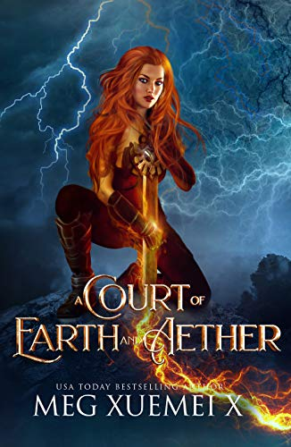 A Court of Earth and Aether: a Reverse Harem Fantasy Romance (War of the Gods Book 4) (English Edition)