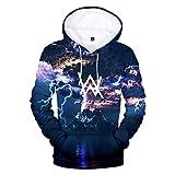 CTOOO 2018 Kapuzenpullover Damen Herren Alan Walker 3D Druck Hoodie Sweatshirt Persönlichkeit Jacket Tops