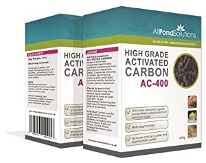 All Pond Solutions Activated Carbon Filter Media for Aquarium Fish Tanks / Ponds