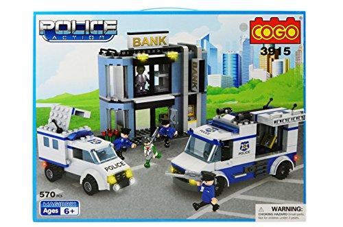 costruzioni police action 570pz cogo compatibili - mazzeo giocattoli