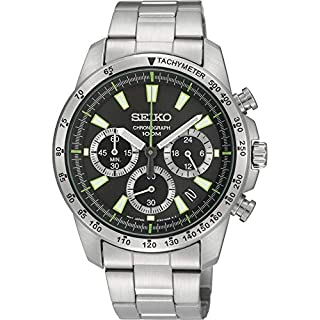 Seiko Men's Analogue Quartz Watch with Stainless Steel Bracelet - SSB027 (B0077QMGNY) | Amazon Products