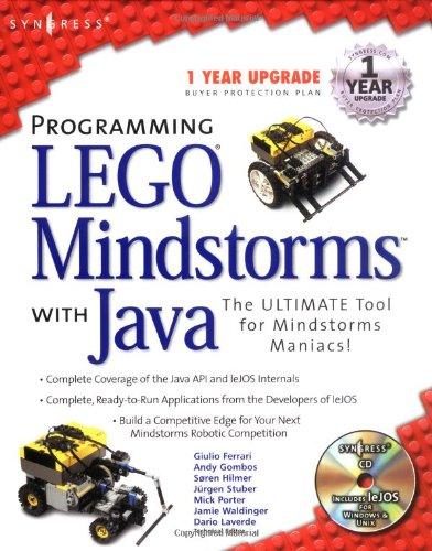 Preisvergleich Produktbild Programming Lego Mindstorms with Java (Morgan Kaufmann)