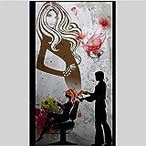 Lifme Carta Da Parati Personalizzata 3D Foto Murales Parete Nostalgica Apparecchi Per Parrucchieri Hotel Restaurant Wallpaper Per Pareti 3 D Wallpaper-150X120Cm