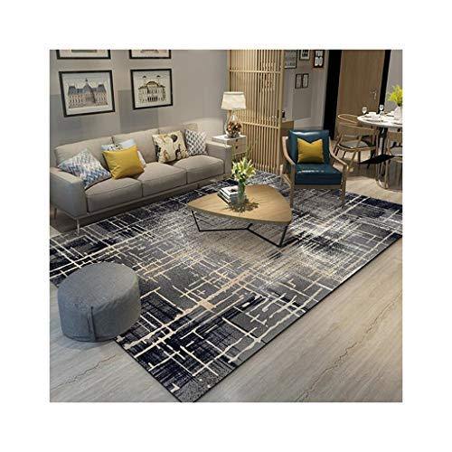 FOO Teppiche Rechteckige Teppich Mischung Rutschfeste, geometrische Sofa Tee Tischdecke, dekorative Wohnzimmer Schlafzimmer Teppich Dicke-6mm Teppich zeitgenössischer Wohn- und Schlafbereich T -