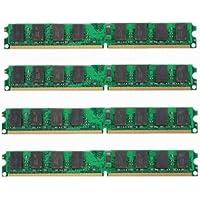 Memoria - TOOGOO(R)4X2GB DDR2-800MHz PC2-6400 DIMM de 240 pines de escritorio memoria para la placa base AMD