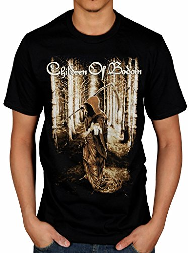 Ufficiale Children of Bodom Morte Wants You Maglietta Band Merch Black M