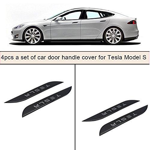 Tesla Model S Carbon Fibre Door Handle Covers