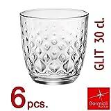 Bormioli Rocco - Set Bicchieri Collezione GLIT 30 - capacità 30 cl. -