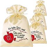 Adventskalender zum Befüllen für Erwachsene mit Adventsbaum und 24 Säckchen