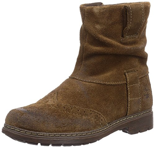 Timberland Refined Rugged Ftk_Ek Amesbury Girls Mid Boot, Bottes fille Marron (Dark Brown)