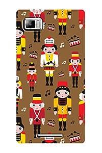 ZAPCASE PRINTED BACK COVER FOR LENOVO VIBE Z - Multicolor