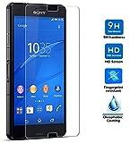 Protector de Pantalla para Sony Xperia Z3 Cristal Vidrio Templado Premium, Electrónica Rey®