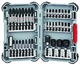 Schrauberbit-Set Impact Control | Bohraufsatz-Set | 36-teiliges Zubehör Set für Akku-Schrauber | 23x Schrauberbits, 3x Steckschlüssel, 8x Doppelklingen, je 1x Universalhalter magnetisch und standard