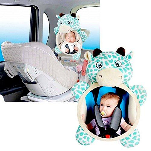 Universal Auto Babyspiegel für Kindersitz, für mehr Sicherheit im Auto, bruchsicher, ideal für Babyschalen,Es gibt auch eine schöne und einzigartige Erscheinung