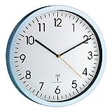 TFA Funk-Wanduhr ohne Batterie Alu-weiß 60351755