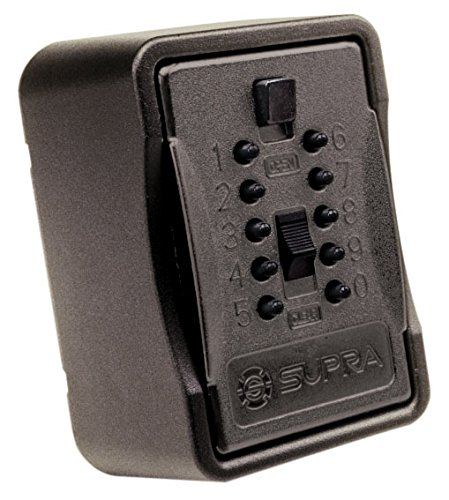 Kidde AccessPoint 001267 KeySafe Pro Multiple Key, Pushbutton, with Cover, Black by GE Security (English Manual) - Elite Manual
