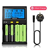 Best C Battery Chargers - Miboxer C4 LCD Display Speedy Universal Battery Charger Review