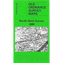 North West Surrey 1888: One Inch Map 285 (Old Ordnance Survey Maps of England & Wales)