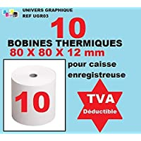 Bobina Térmica – 80 x 80 x 12 – paquete de 10 ...