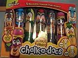Weveel Chalk-a-doos Super Heroes Reusabl...
