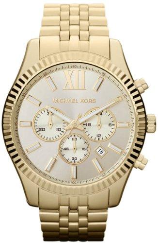 Michael Kors Lexington Montre pour Homme – Bracelet analogique en Acier Inoxydable – MK8281
